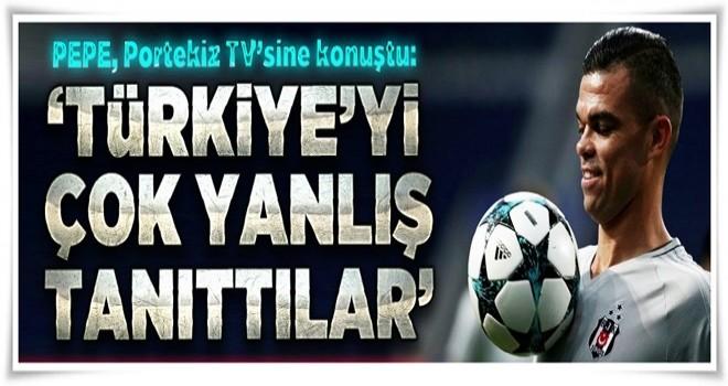 Türkiye'yi çok yanlış tanıttılar