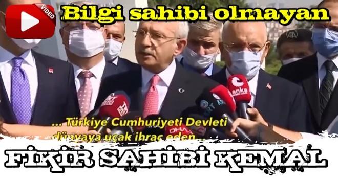 Kılıçdaroğlu'ndan uçak fabrikası gafı.