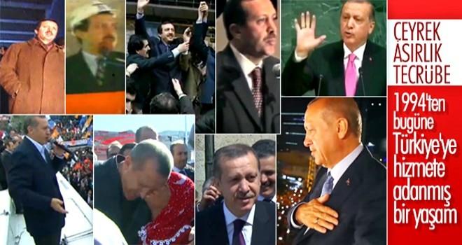 AK Parti Olağan Kongresi'nde geçmişten bugüne Türkiye