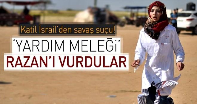 İsrail'in son kurbanı Razan hemşire .
