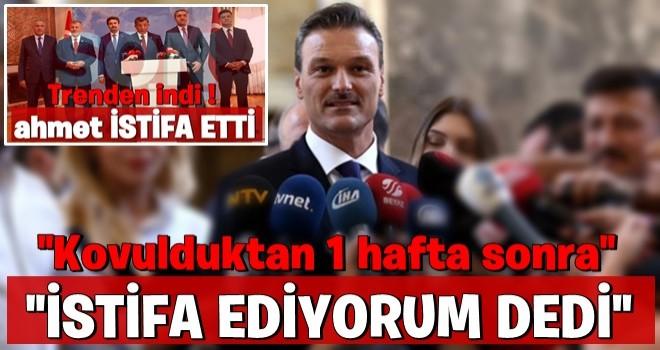 Davutoğlu'nun istifasına ilk tepki Mv.Alpay ÖZALAN'dan geldi..