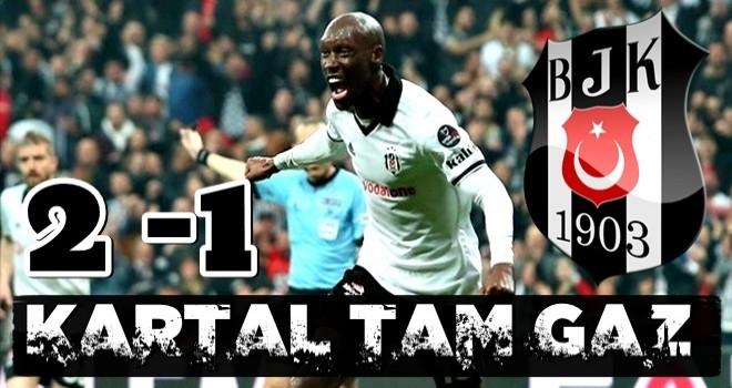 Beşiktaş Başakşehir'i 2-1 mağlup etti