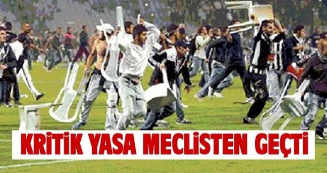 Sporda şiddeti önlemeye yönelik teklif yasalaştı!