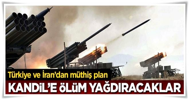 Türkiye ve İran anlaştı, Kandil'e ortak operasyon yapılacak