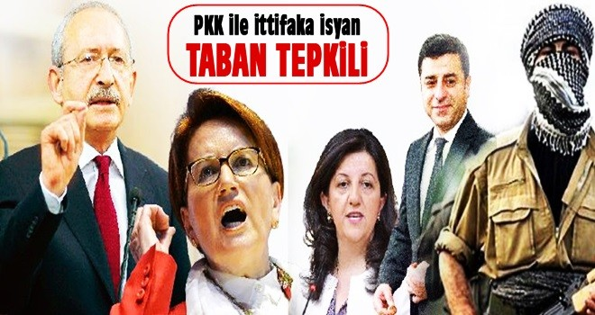 PKK ile ittifaka isyan
