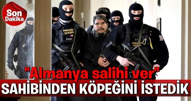 Türkiye, Almanya'dan Salih Müslim'i istedi!