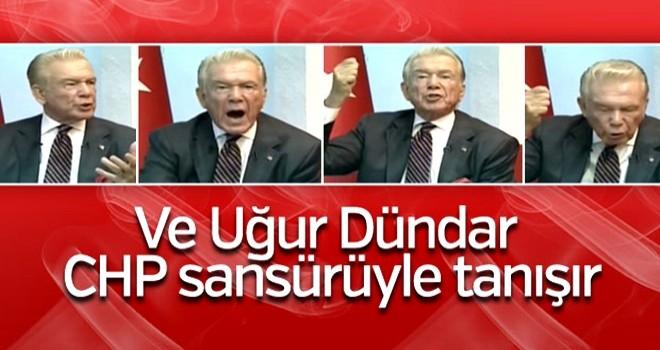 CHP'li belediye Uğur Dündar'ın programına izin vermedi