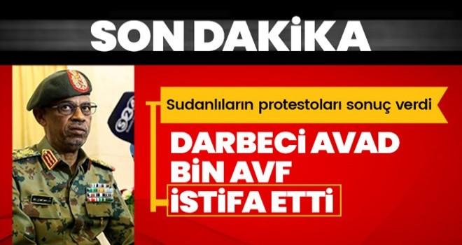 Sudan'da darbeci Avad bin Avf, kendi isteğiyle görevinden ayrıldı