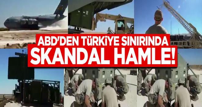 ABD'den Türkiye sınırında tehlike adım... PKK'ya kalkan oldular!