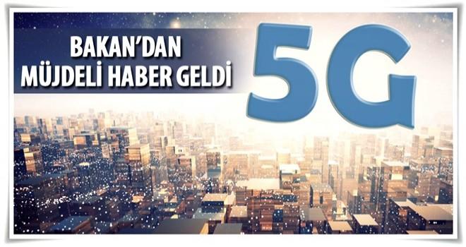 Bakan Arslan'dan flaş '5G' açıklaması