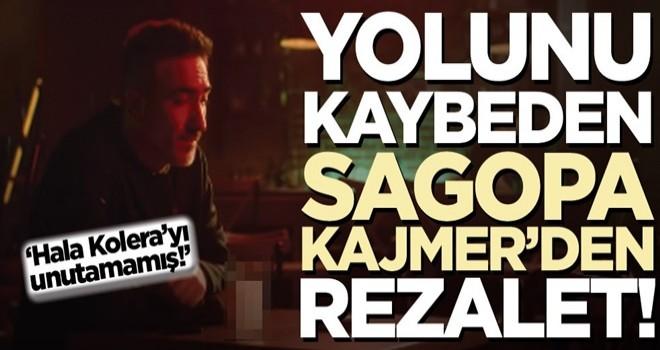 Yolunu kaybeden Sagopa Kajmer'den rezalet!