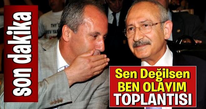 Kılıçdaroğlu ile Muharrem İnce arasında seçim görüşmesi