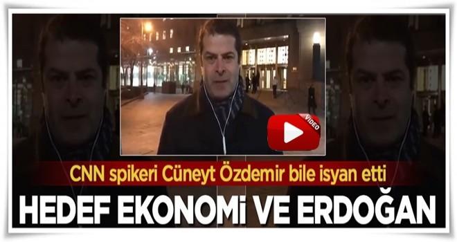 CNN spikeri Cüneyt Özdemir bile isyan etti