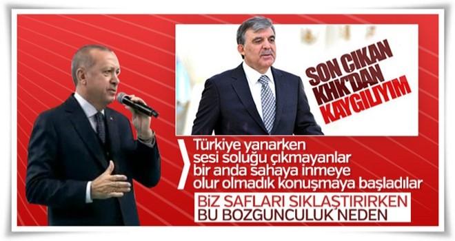 Cumhurbaşkanı Erdoğan: Bize yakışan birlik olmaktır