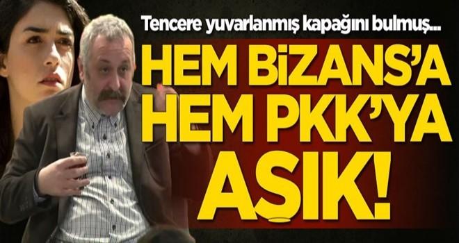 Onur Ünlü hem Bizans'a hem PKK'ya aşık!