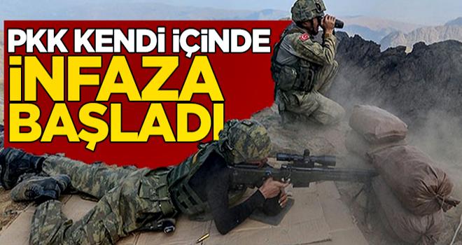 Mehmetçik'ten korkan PKK, kendi içinde infaz ediyor