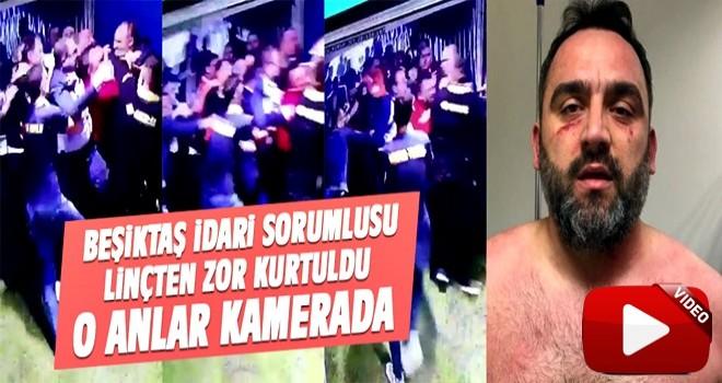 Beşiktaş iç saha ekibi Erdinç Gültekin'in son hali