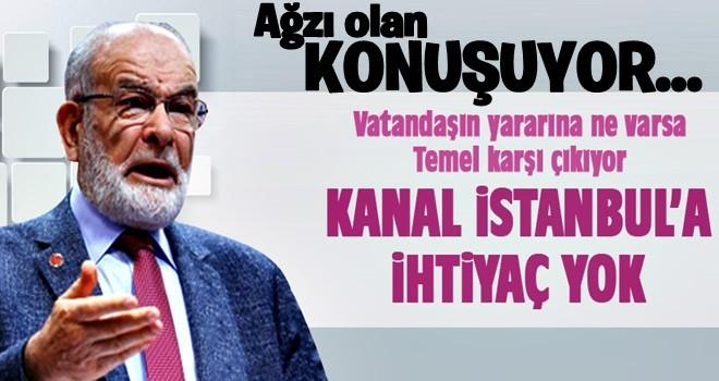 Karamollaoğlu: Kanal İstanbul'a ihtiyaç yok