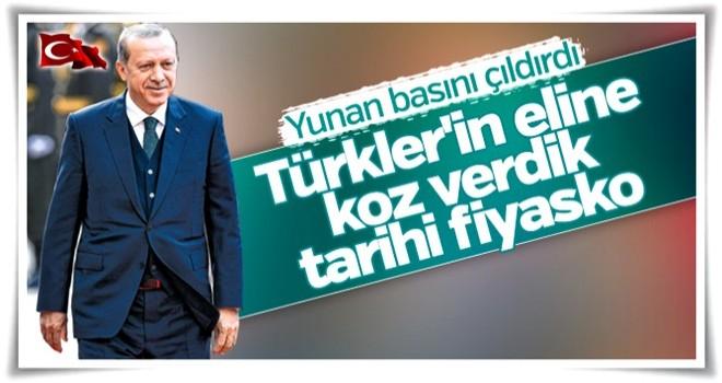 Erdoğan'ın sözleri Yunan medyasına damgasını vurdu