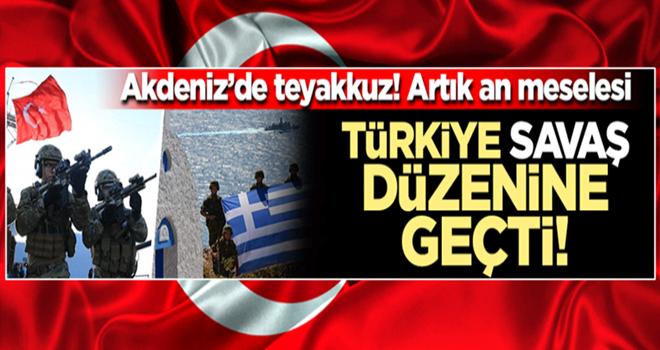 Savaş an meselesi! Türkiye Akdeniz'de teyakkuz halinde