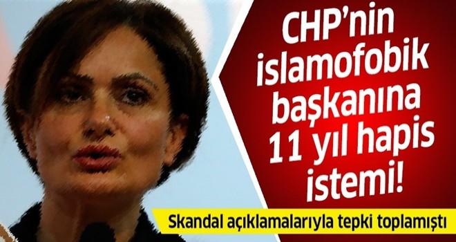 CHP'nin skandallar kraliçesi Canan Kaftancıoğlu hakkında 11 yıla kadar hapis istendi .