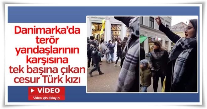 Danimarka'da PKK yandaşlarına Türk tokadı