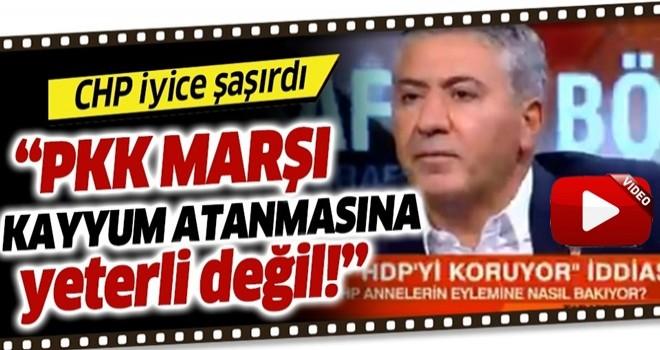 İşte CHP zihniyeti! PKK marşı okunması yeterli değilmiş