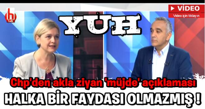CHP'li Selin Sayek Böke'den akla ziyan 'müjde' açıklaması