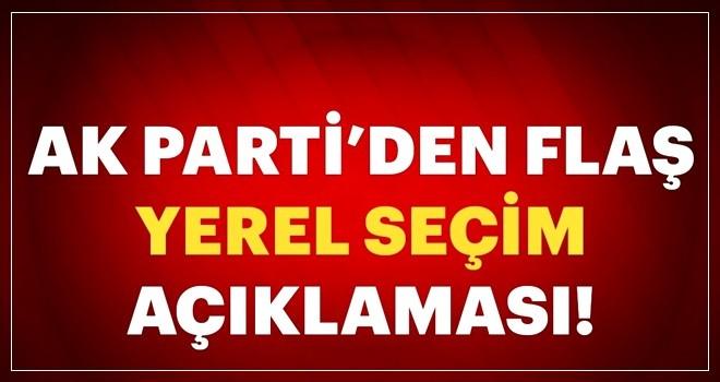AK Parti'den son dakika yerel seçimde ittifak açıklaması