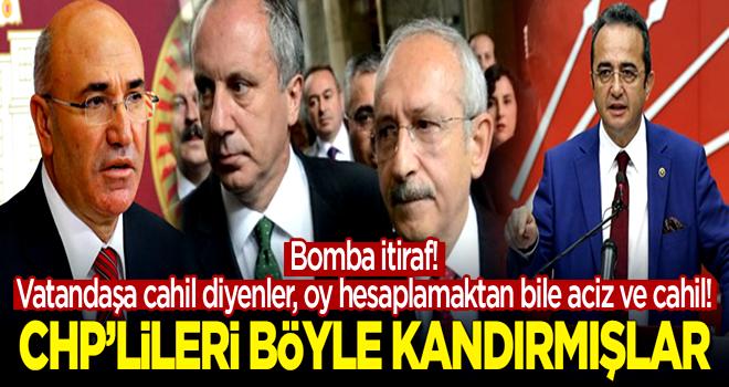 CHP oylarını hesaplamaktan bile aciz... Bomba itiraf!