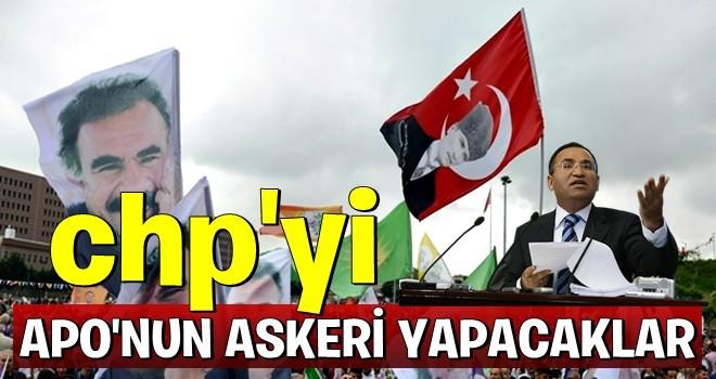 'CHP'yi APO'nun askeri yapacaklar!'