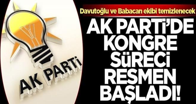 AK Parti'de kongre süreci resmen başladı