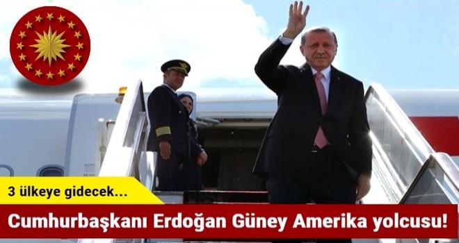 Cumhurbaşkanı Erdoğan Güney Amerika yolcusu!
