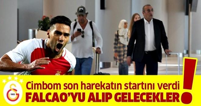 Galatasaray Falcao transferinde son harekatın startını verdi!
