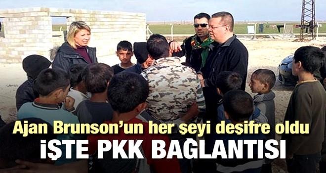 Ajan Brunson'ın PKK ile teması deşifre oldu