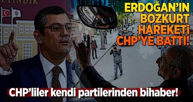 Erdoğan'ın bozkurt hareketi CHP'ye battı .