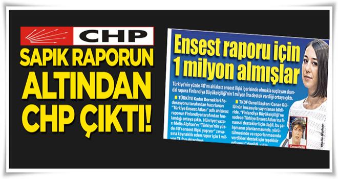 Sapık raporda CHP parmağı!