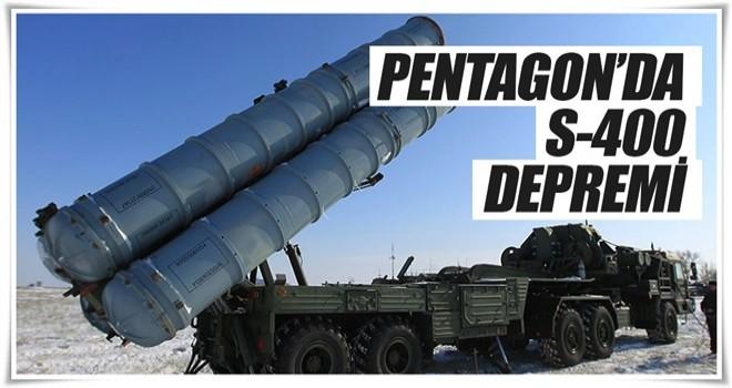 Pentagon'da S-400 depremi