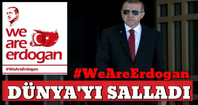Başkan Erdoğan'a dünyanın dört bir yanından büyük destek!