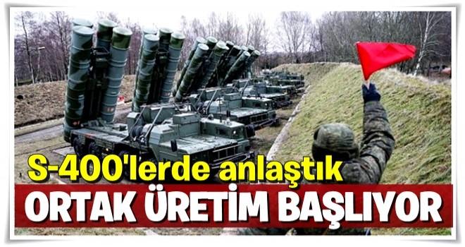 Bakan Çavuşoğlu: S-400'lerde ortak üretim için anlaştık  .