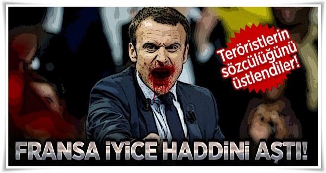 Fransa'dan skandal YPG/PYD paylaşımı! .