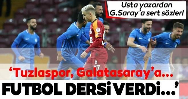 10 kişi kalan Tuzlaspor, Galatasaray'ı tuzla buz etti!