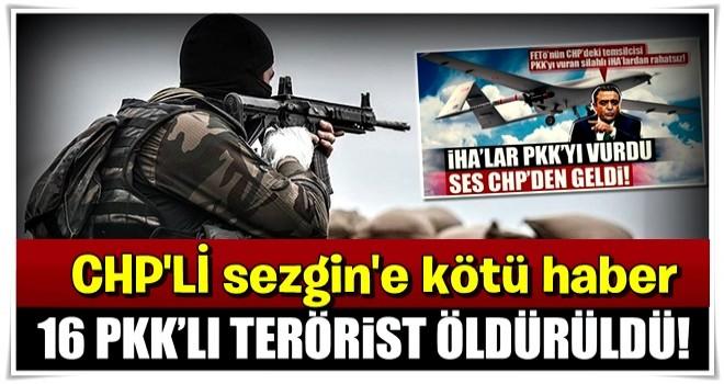 İçişleri Bakanlığı: 4 ildeki operasyonlarda 16 terörist öldürüldü