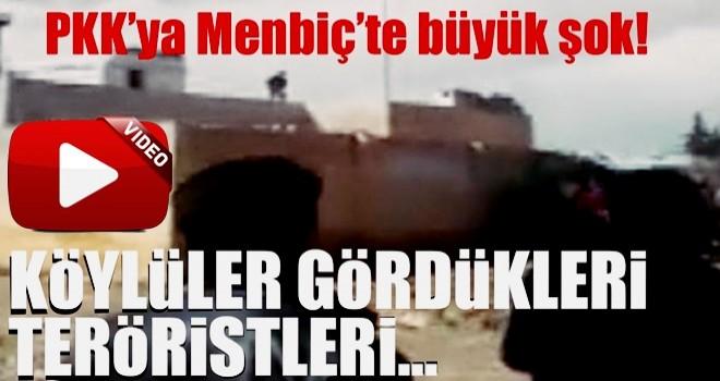 Menbiç'te köylülerden PKK'ya büyük şok!
