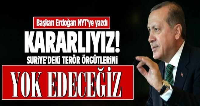 Cumhurbaşkanı Erdoğan New York Times için makale yazdı
