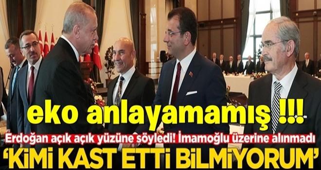BAŞKAN Erdoğan açık açık yüzüne söyledi! Ekrem İmamoğlu üzerine alınmadı
