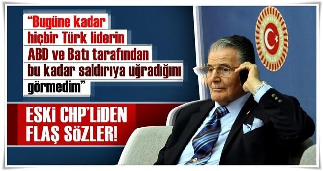 Şükrü Elekdağ'a göre ABD'nin hedefinde Erdoğan var