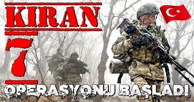 Kıran-7 Munzur Vadisi operasyonu başladı!
