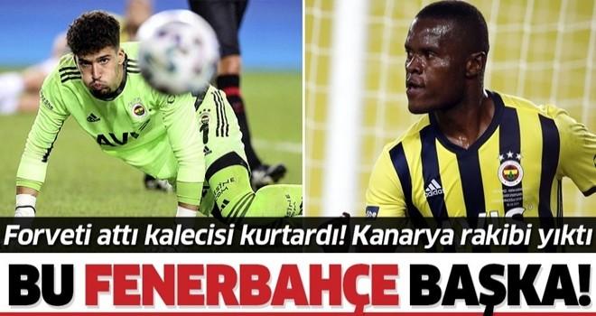Kadıköy panteri Altay kurtardı Tanzanya canavarı Samatta attı! Fenerbahçe Karagümrük'ü yıktı
