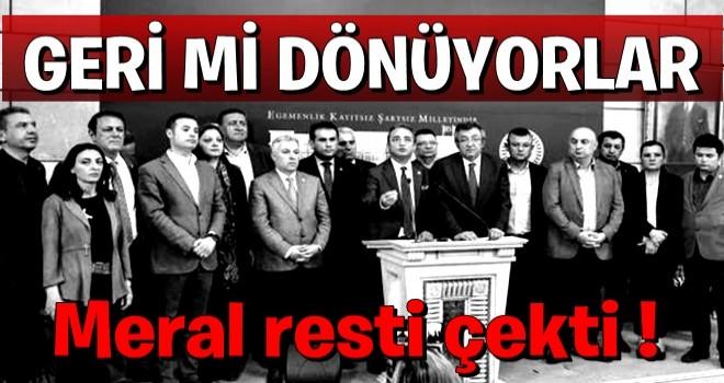 15 milletvekili CHP'ye dönecek iddiası